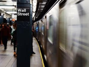 subway wall street stop