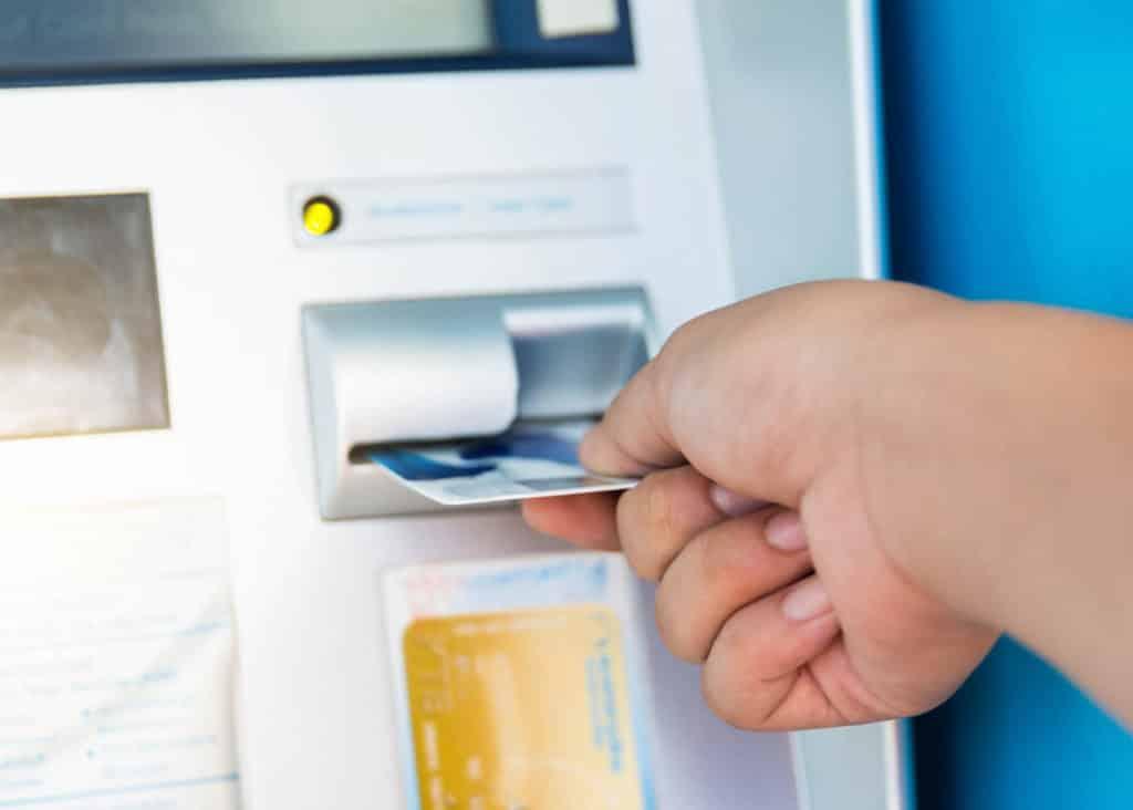 atm credit card transaction