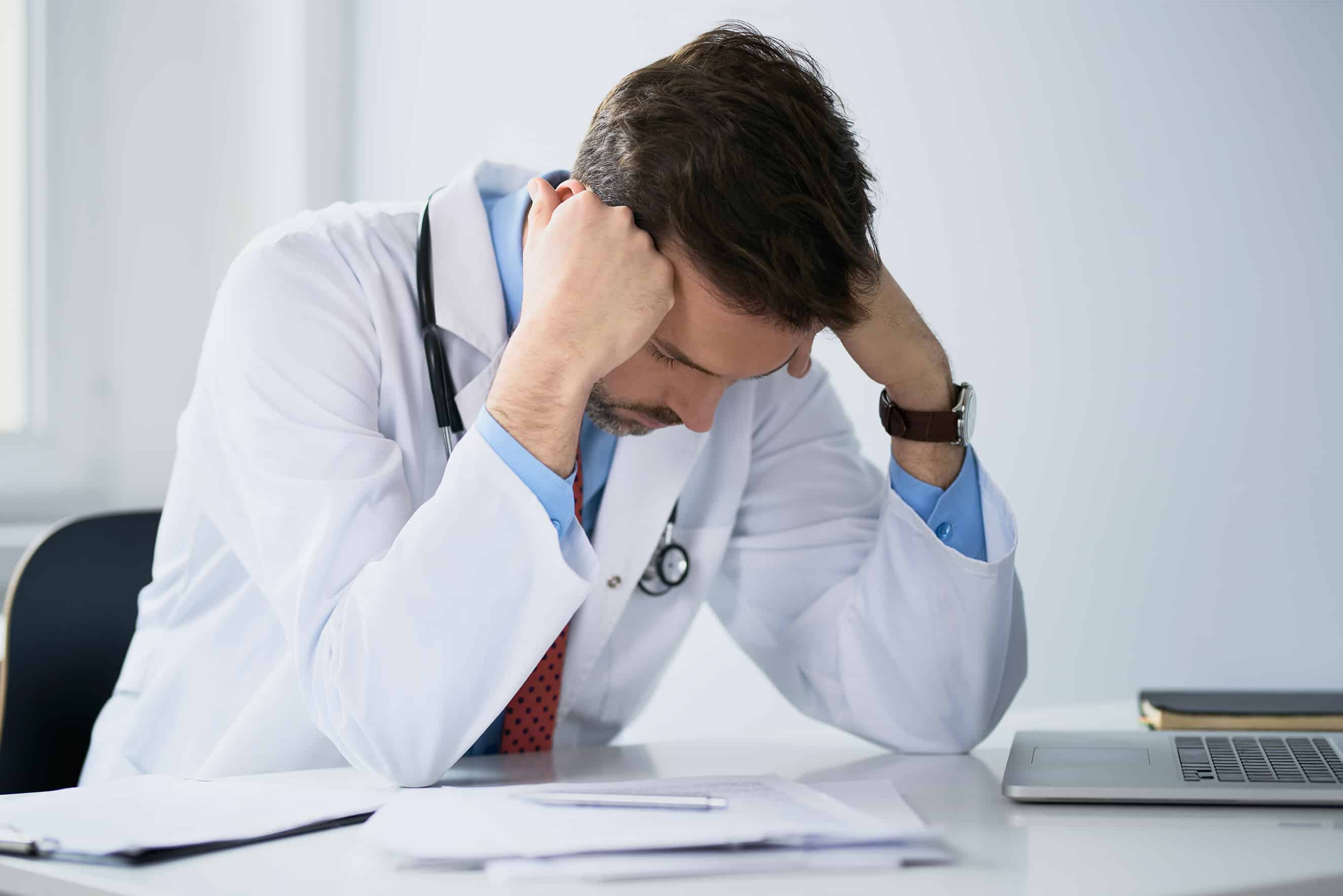 Frustrated Doctor reduced