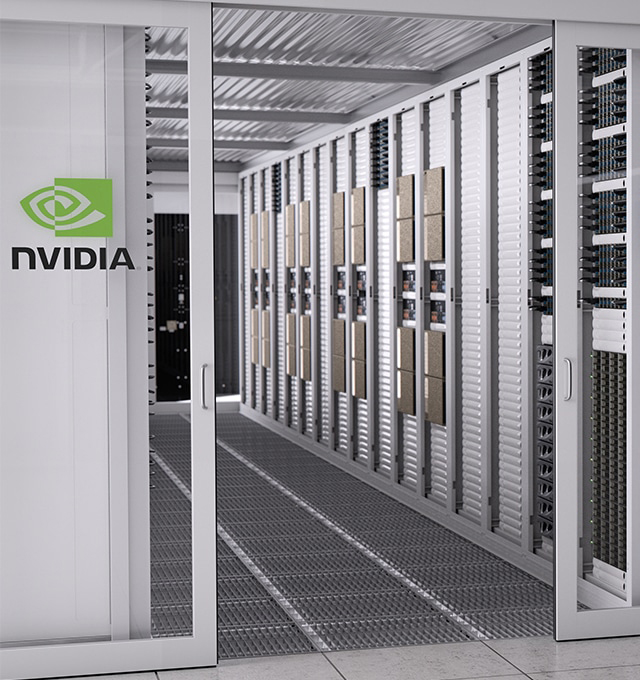 nvidia data center