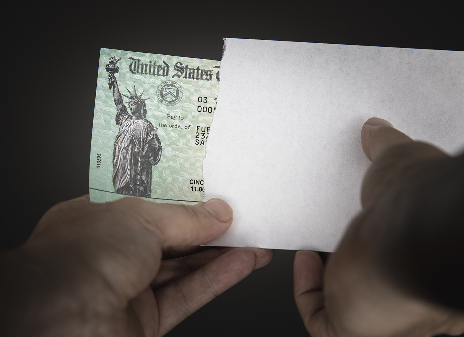 4 - Check Fraud Stimulus Check