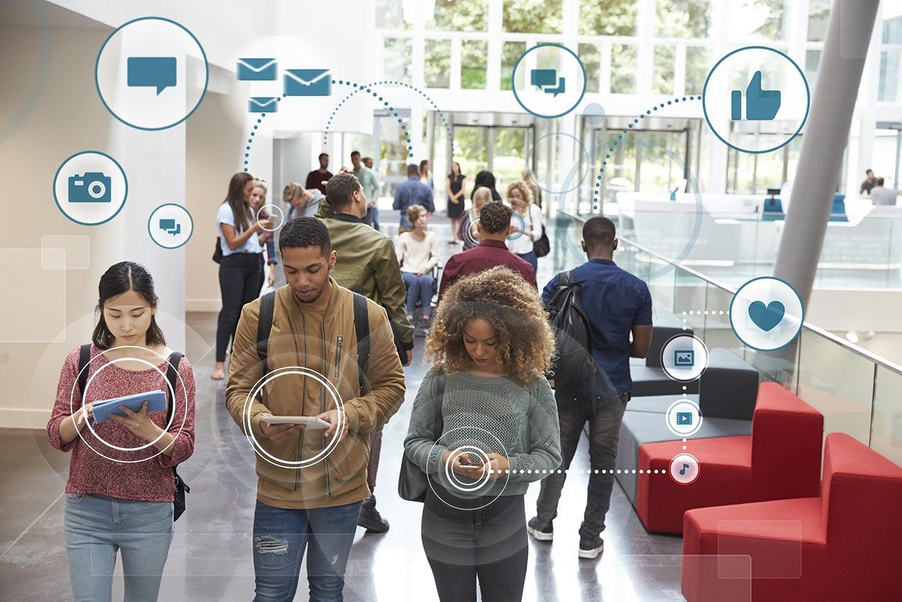 Millenials digital footprint reduced