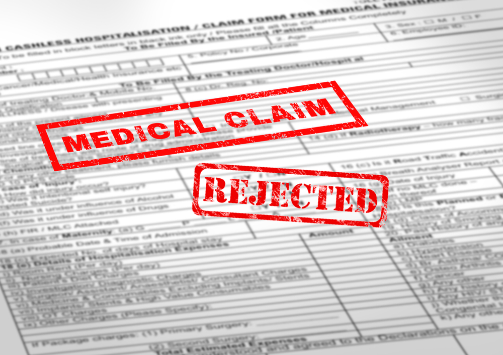 """Medical claims are often """"rejected"""" or """"denied"""" when improperly coded."""