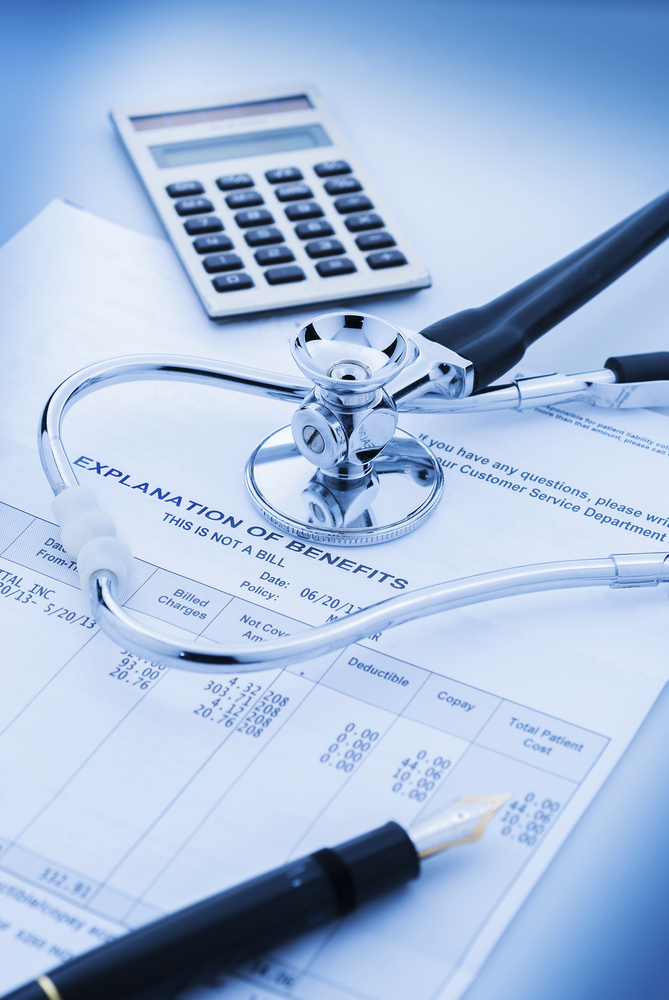 Cost,Of,Health,Care,With,Stethoscope,,Calculator,And,Pen