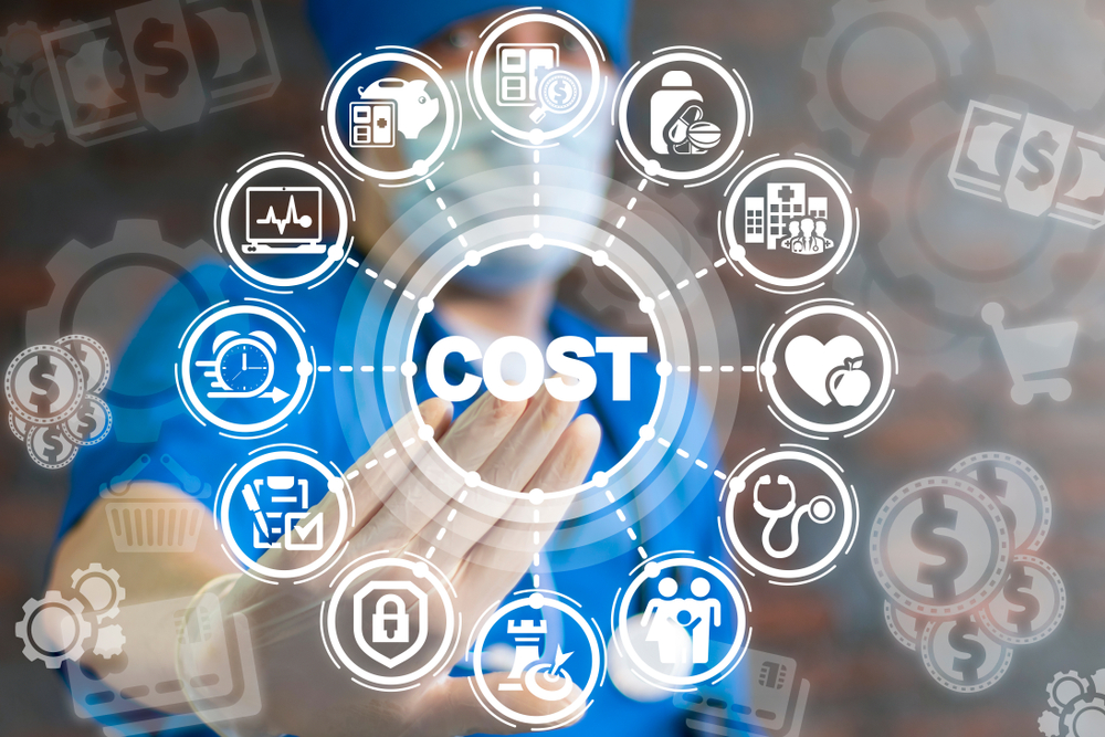 Doctor,Presses,Button,Cost,On,A,Virtual,Interface.,Rising,Medical