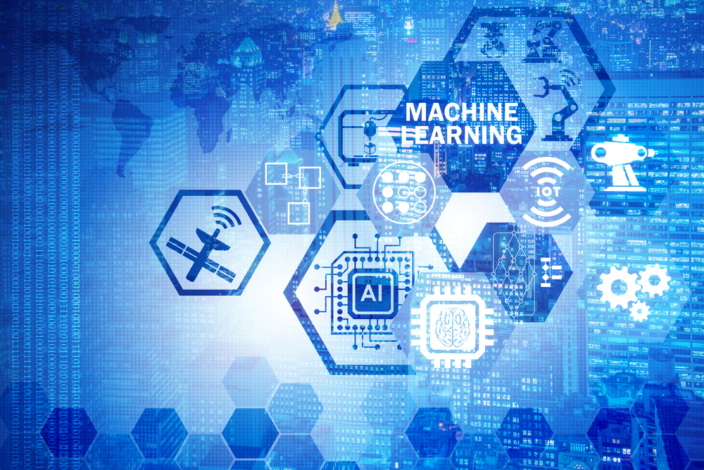 Concept,Of,Modern,It,Technology,With,Machine,Learning